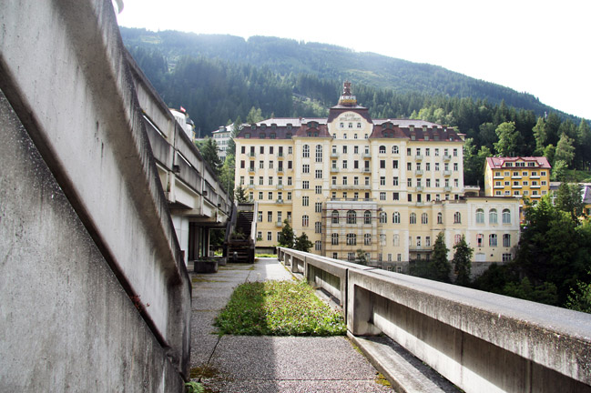 Das alte Grandhotel in Bad Gastein