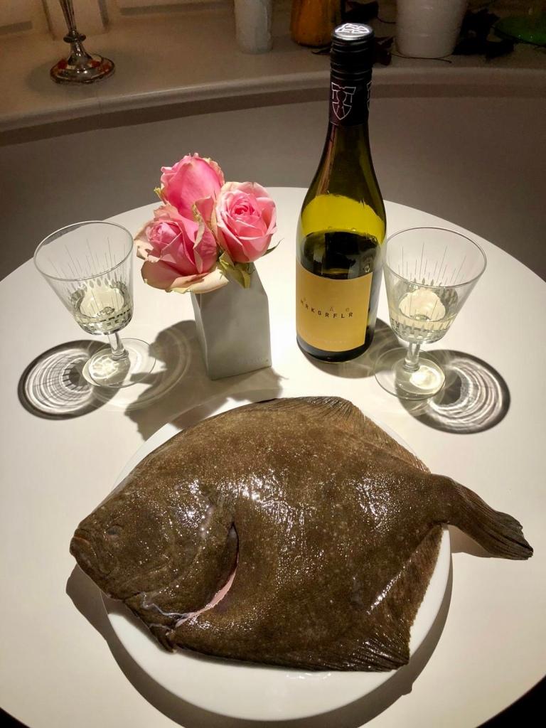Eine Delikatesse unter den Fischen: Steinbutt.