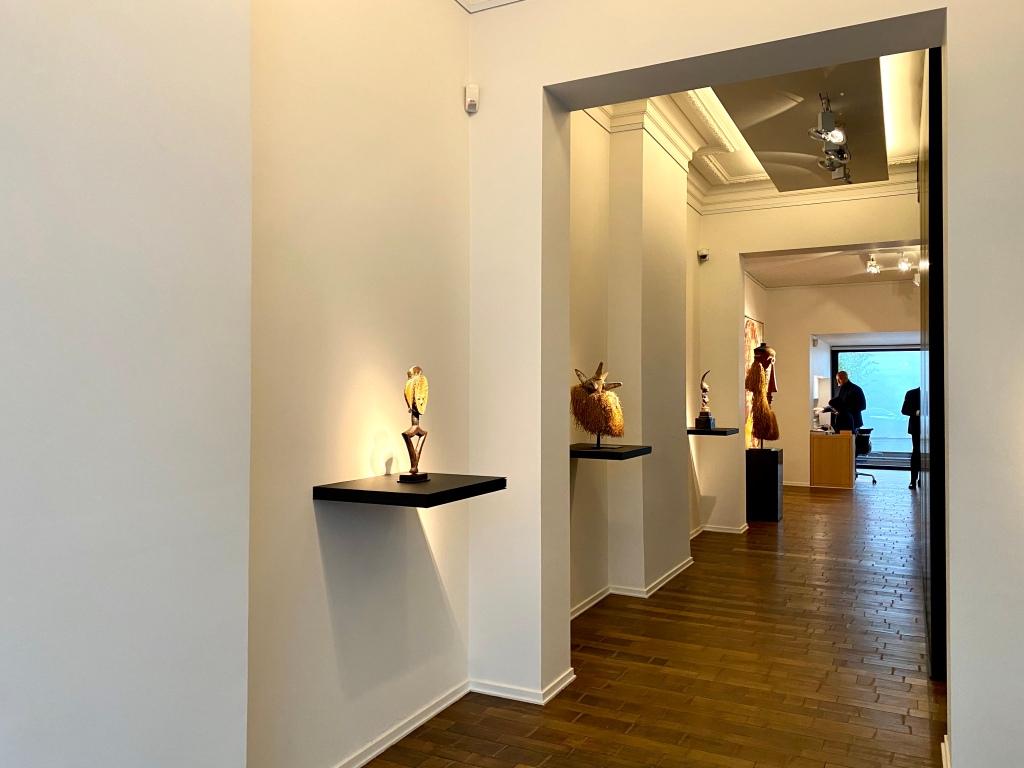 Didier Claes' Galerie im Ixelles-Viertel von Brüssel.